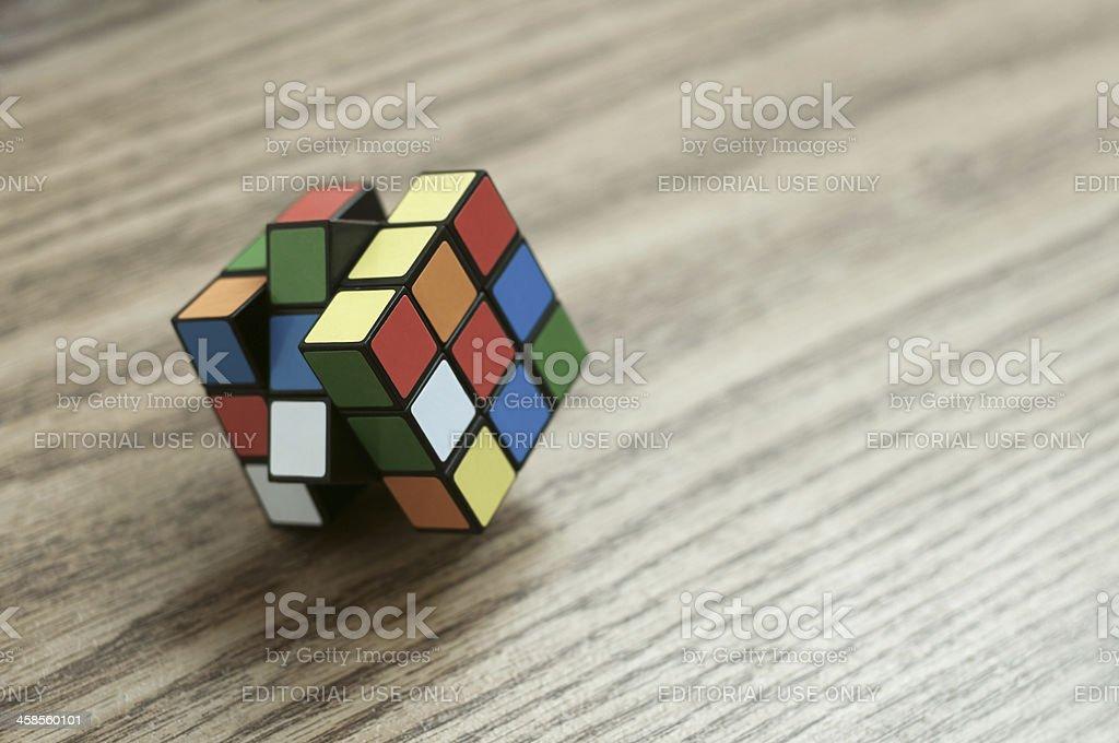 Rubix Cube stock photo