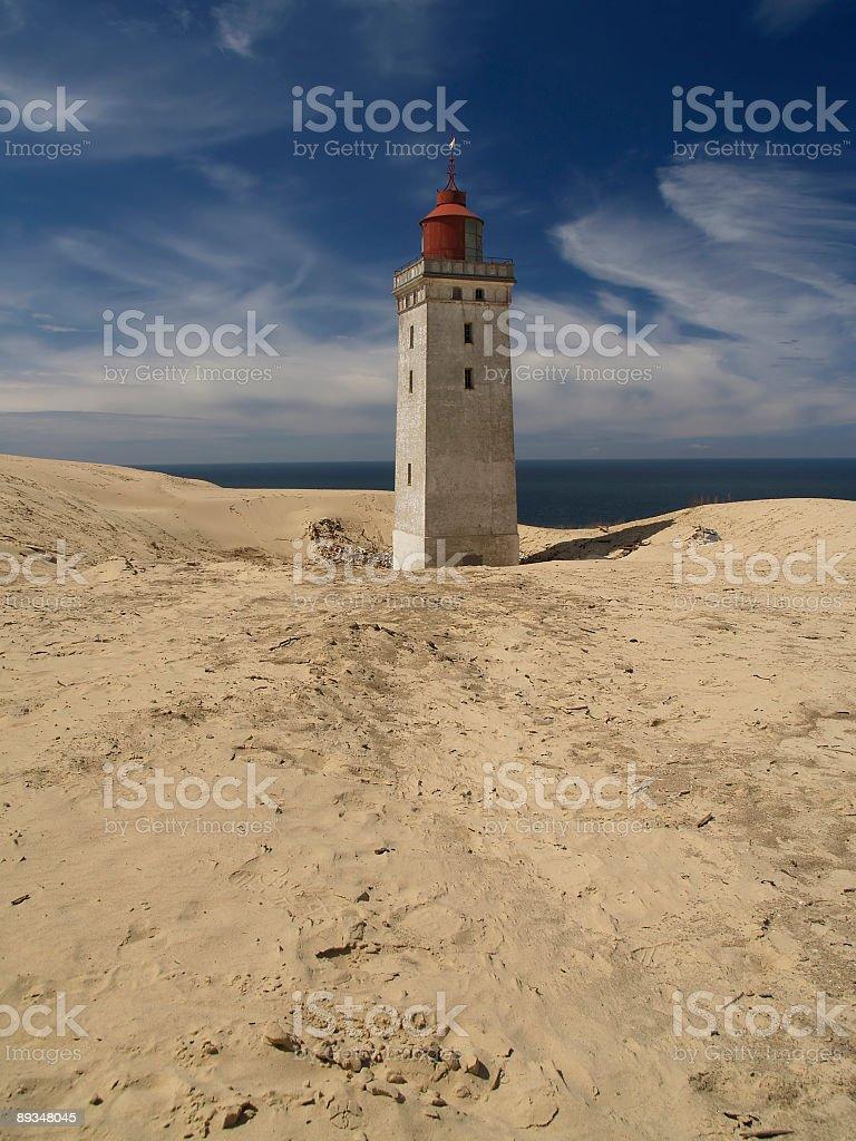 Rubjerg Knude lighthouse royalty-free stock photo