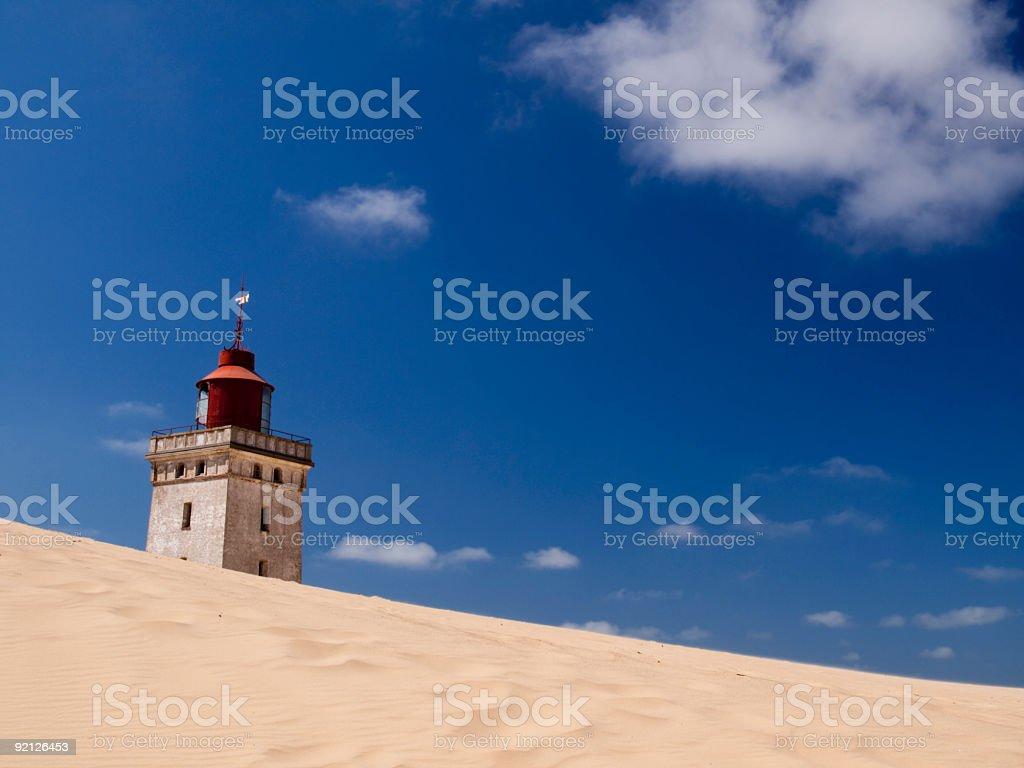 Rubjerg Knude lighthouse stock photo