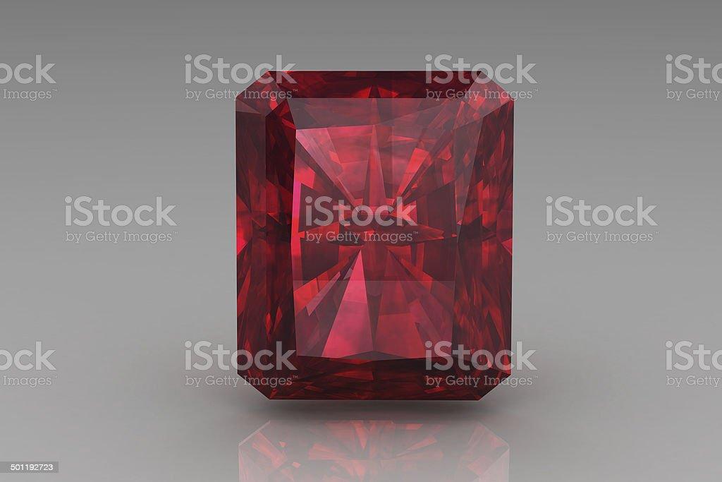 ruby ,Citrine stock photo