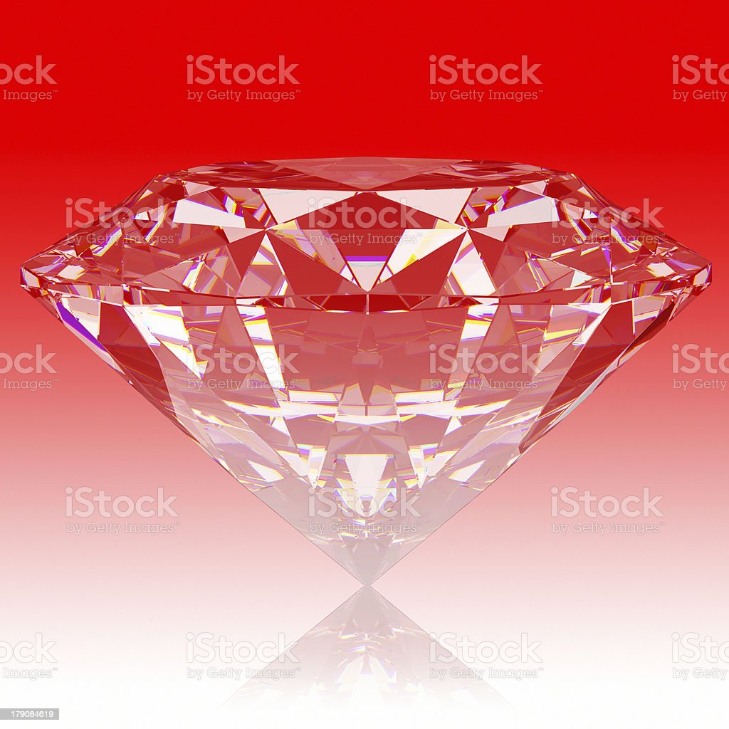 Ruby royalty-free stock photo
