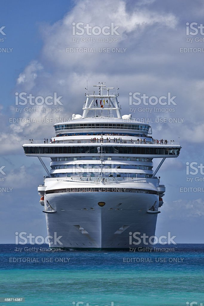 Ruby Princess Cruise Ship stock photo