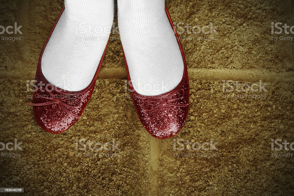 Ruby Slippers stock photo