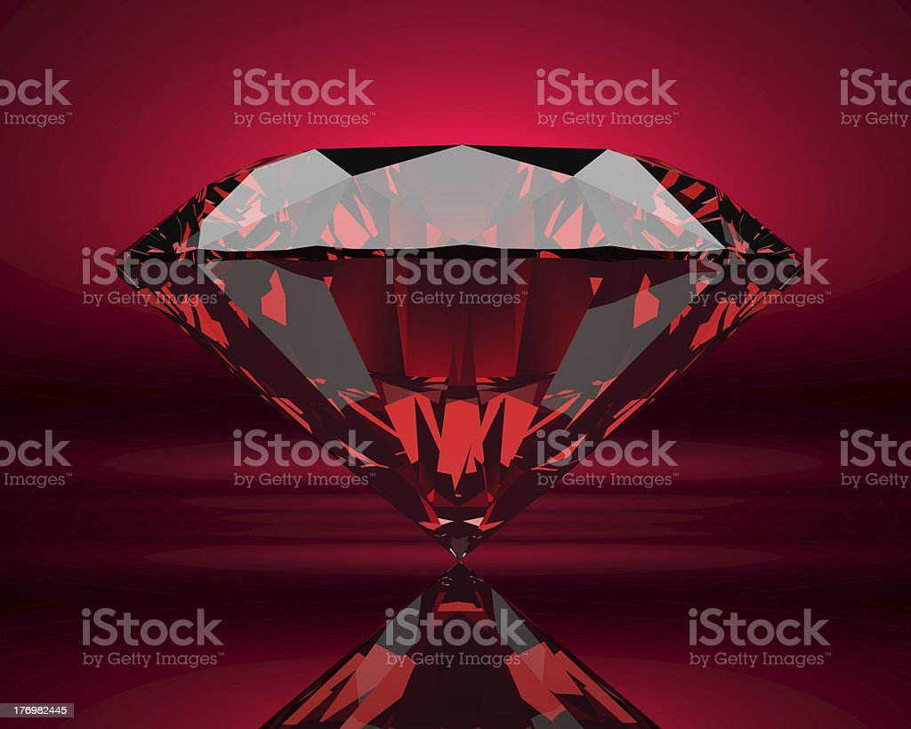 Ruby XL stock photo