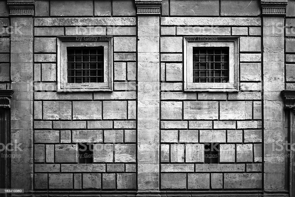 Rucellai Palace by Leon Battista Alberti, Renaissance Architecture in Firenze stock photo