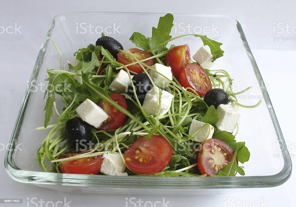 rucola salad4 royalty-free stock photo