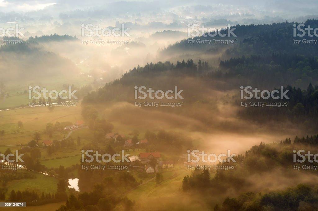 Rudawy Janowickie stock photo