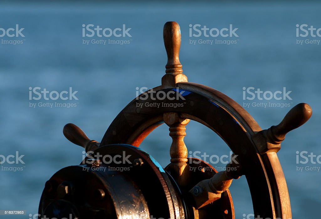 Rudder stock photo