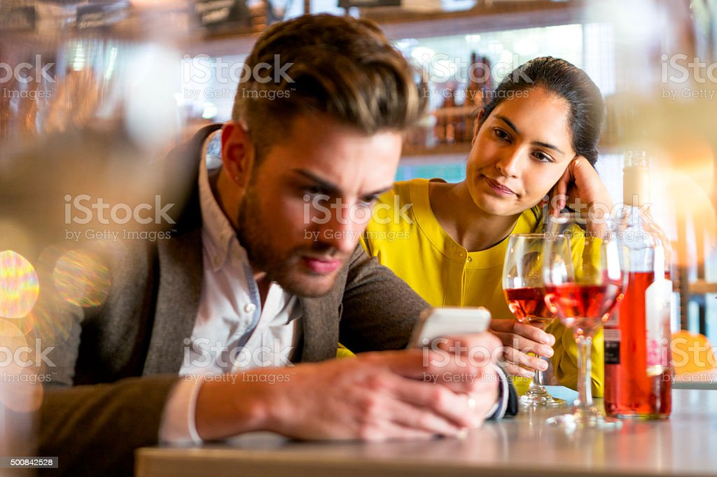 Rude Behaviour stock photo