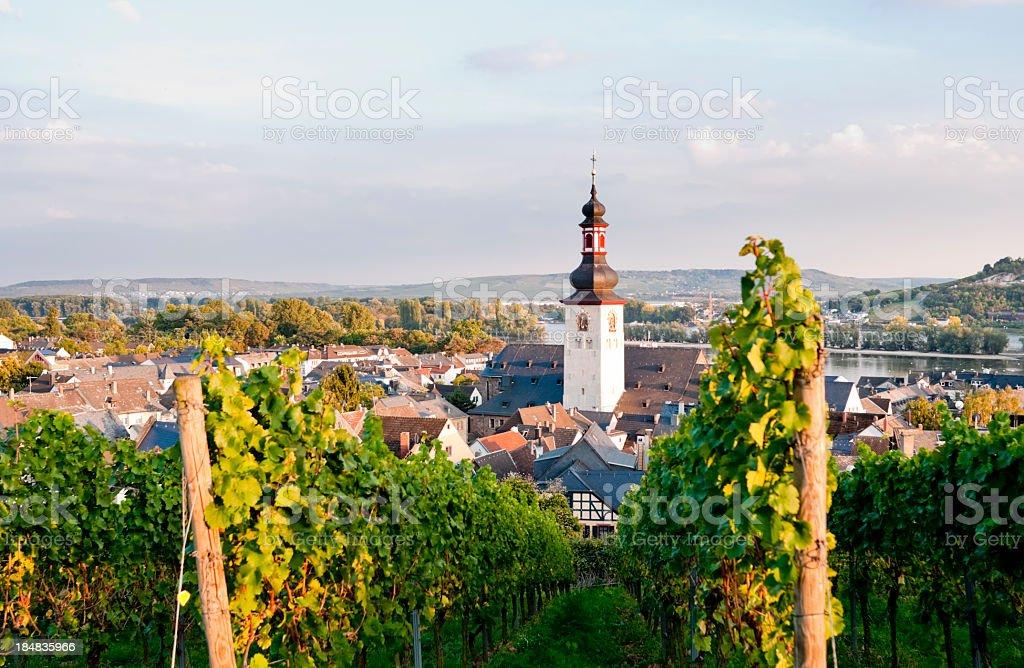Rudesheim in Germany royalty-free stock photo