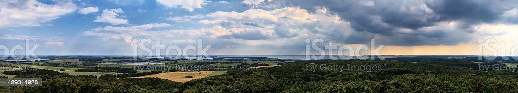 Ruegen Island, Germany stock photo