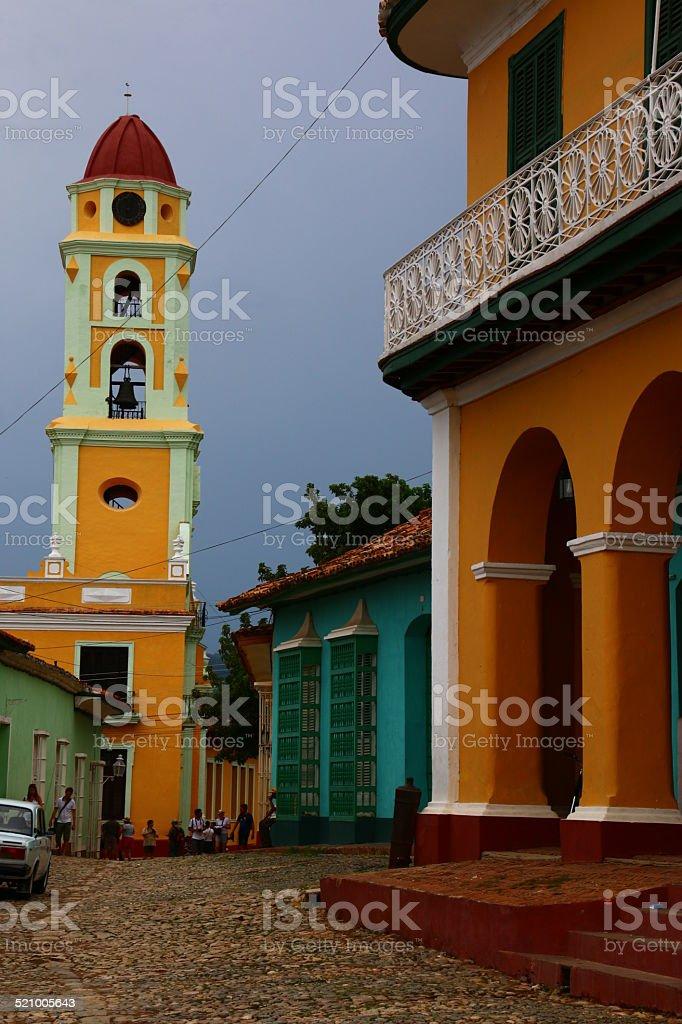 ruelle de trinidad stock photo