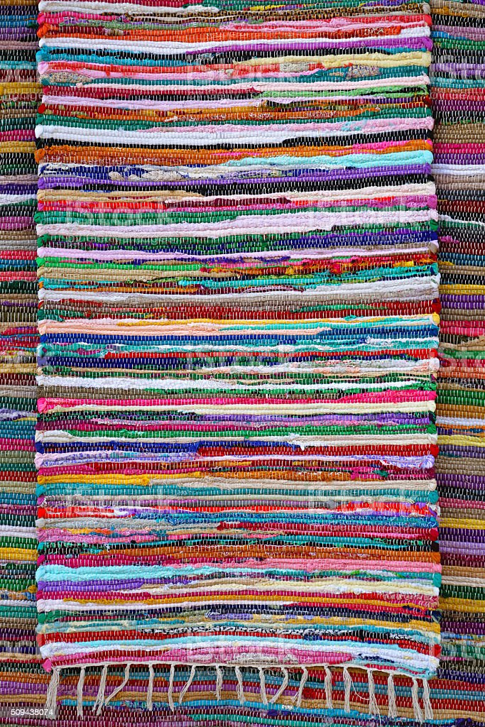 Rug Rag stock photo