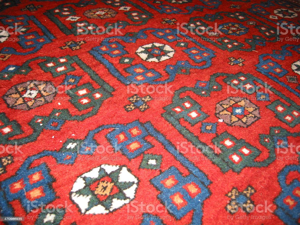 Rug with Pattern royalty-free stock photo