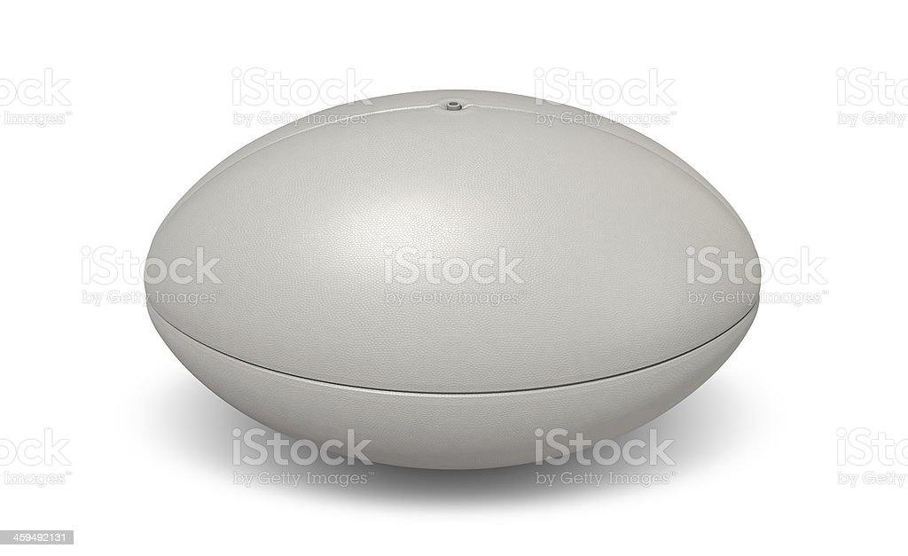 Rugby Ball Plain stock photo