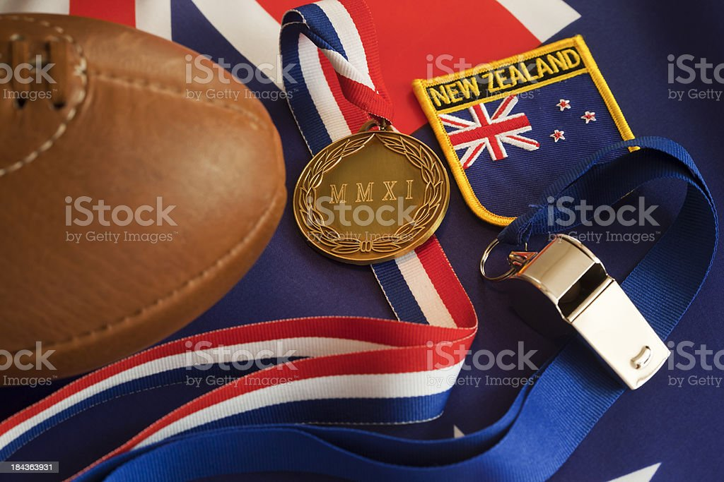 Rugby World Cup Winners New Zealand 2011 stock photo