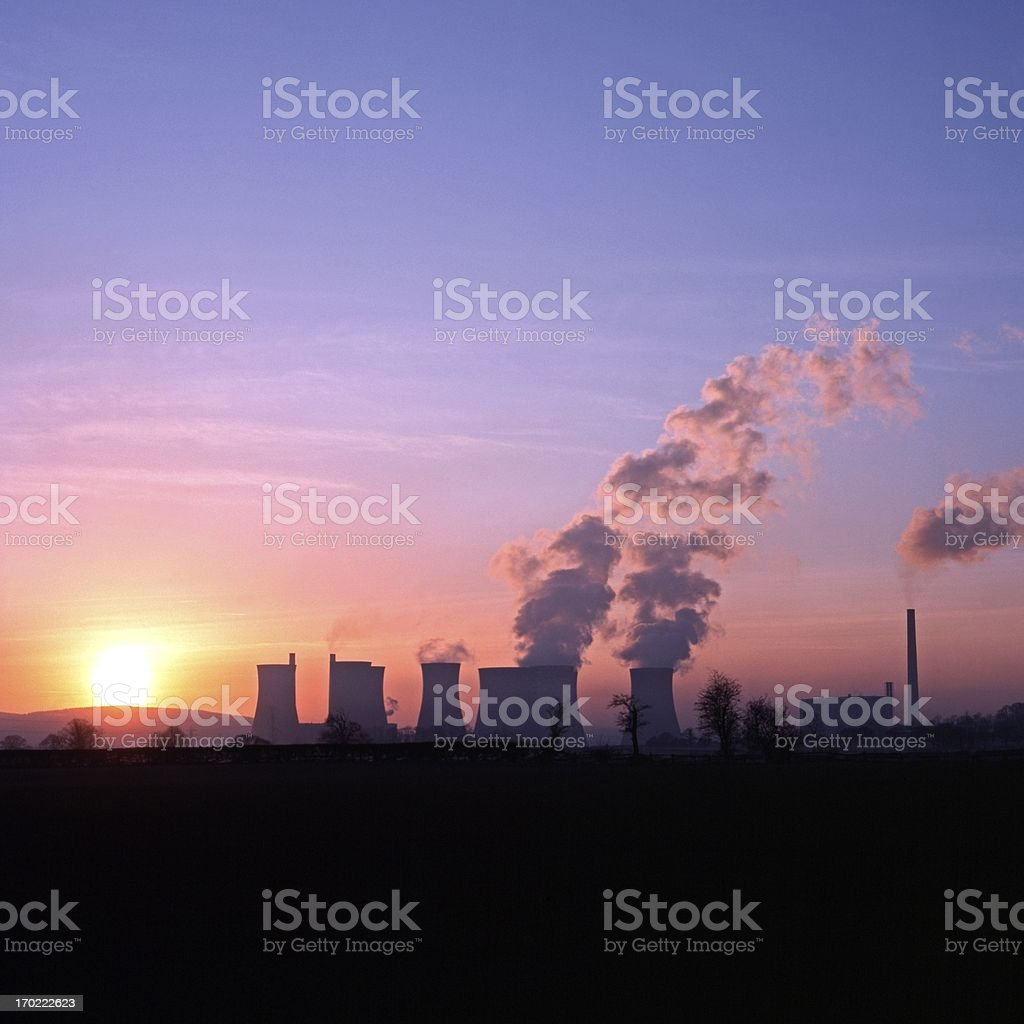 Rugeley power station, England. royalty-free stock photo