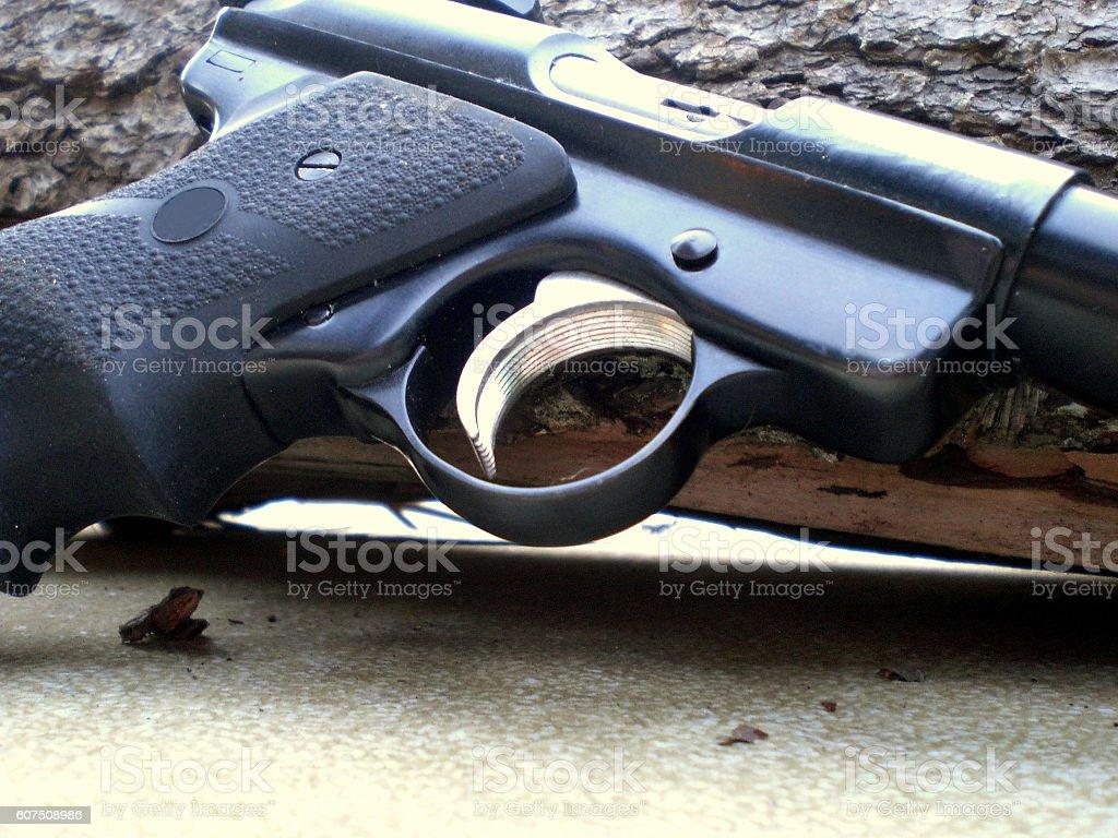 Ruger Mark III Pistol stock photo