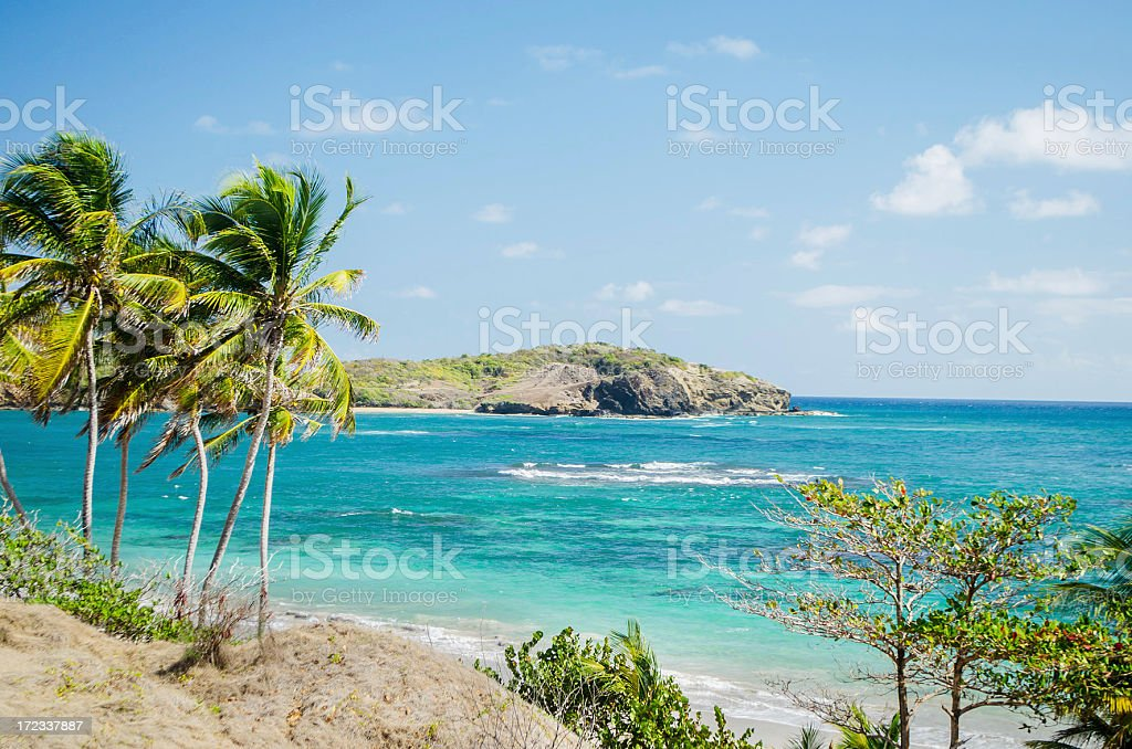 rugged and scenic coastal view royalty-free stock photo
