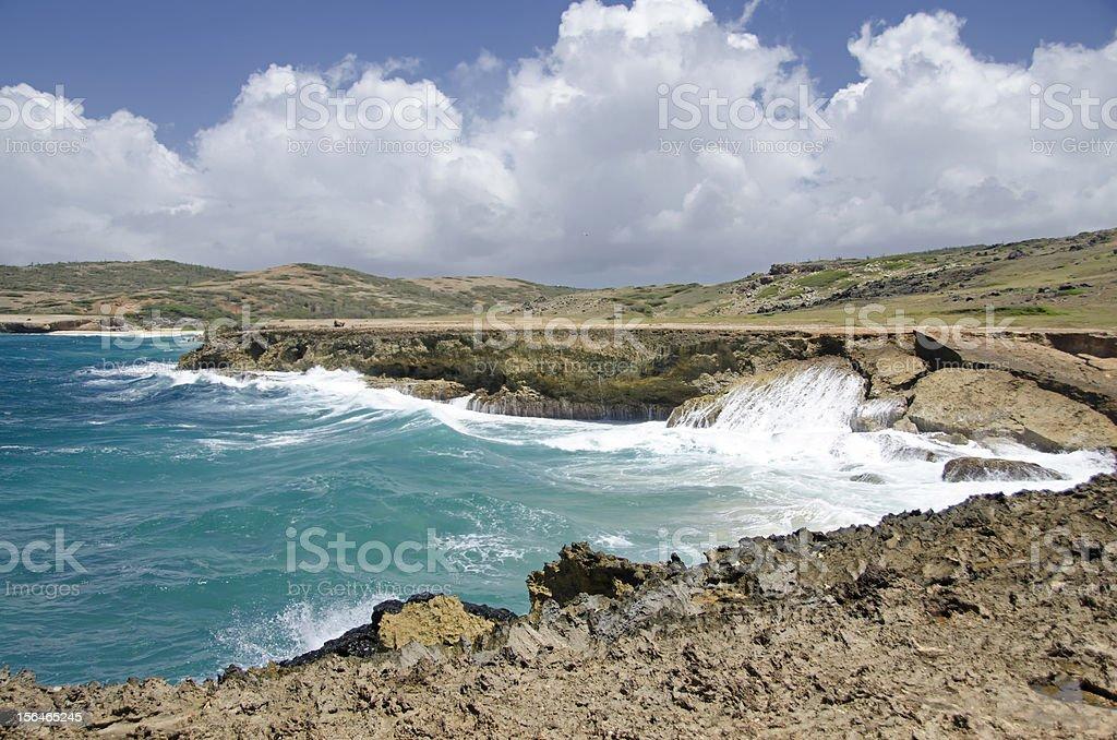 Rugged Coastline royalty-free stock photo