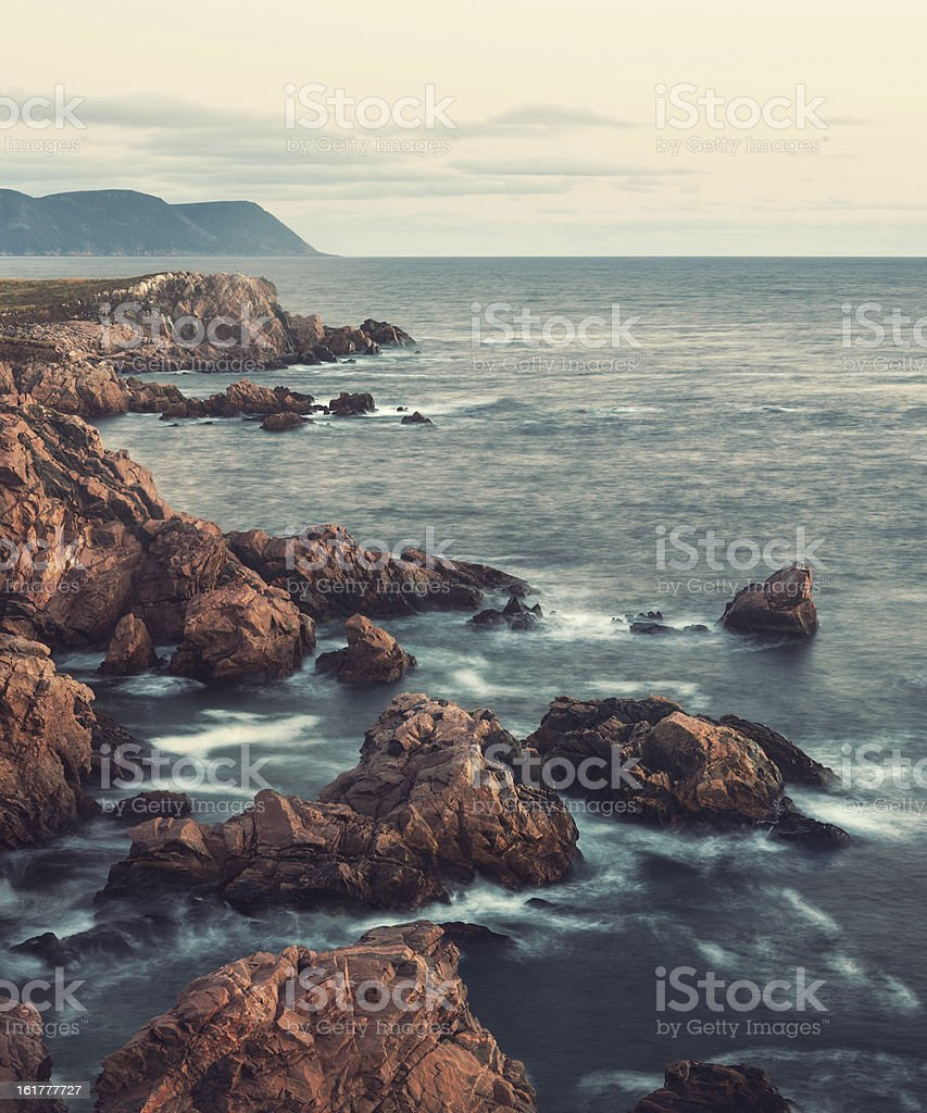 Rugged Coastline royalty-free stock photo