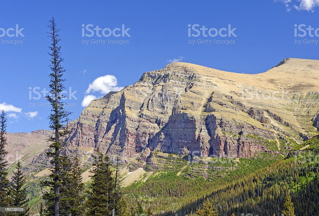 Rugged Escarpment in the American West royalty-free stock photo