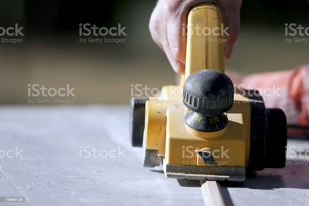 Rugged Hand & Power Tool royalty-free stock photo