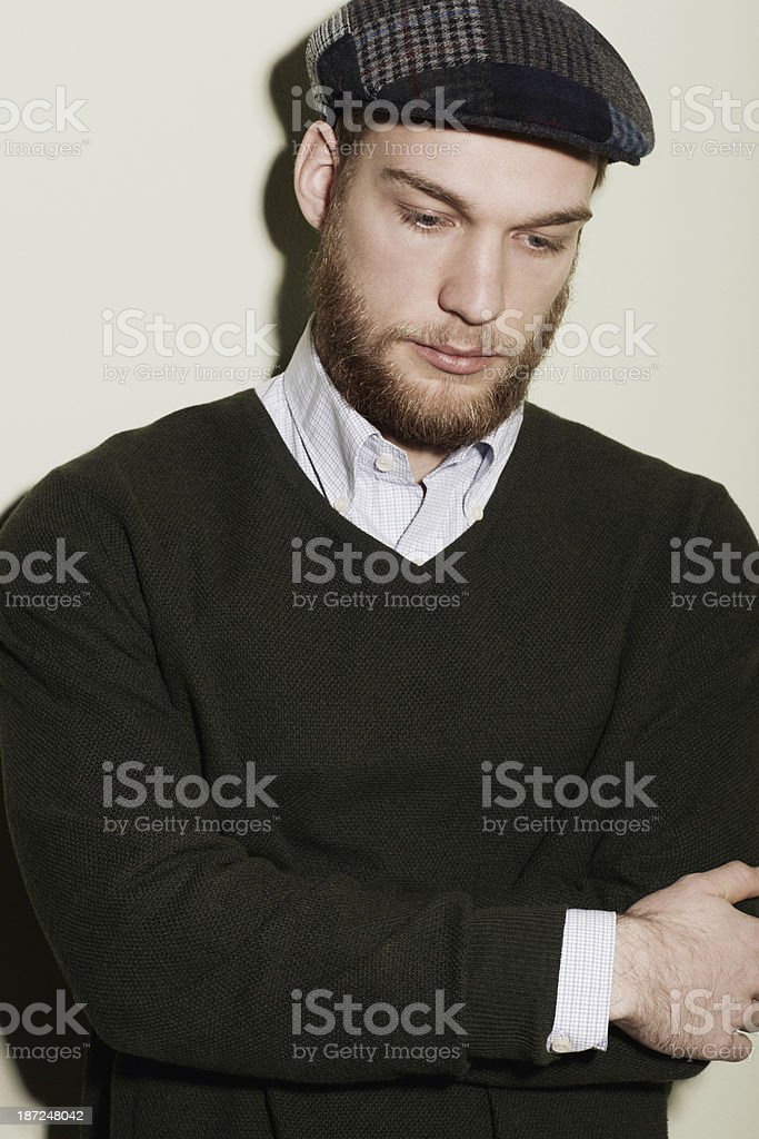 Rugged kind of charm royalty-free stock photo