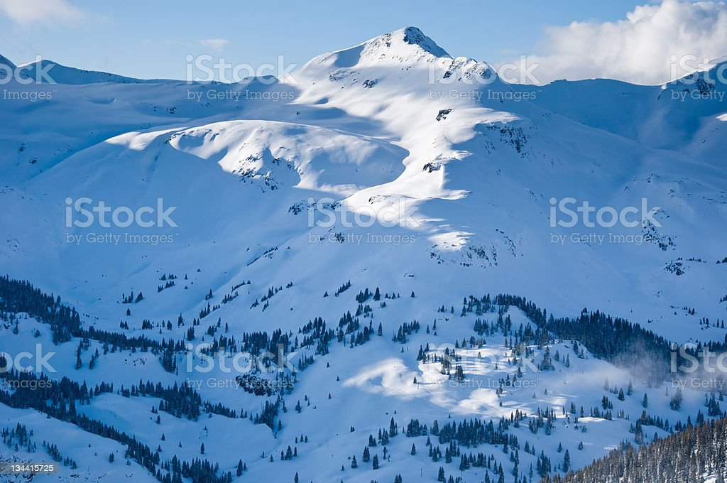 Rugged Mountain Peak San Juan Mountains Colorado royalty-free stock photo