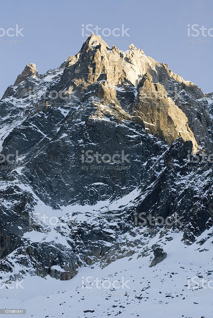 Rugged Mountain royalty-free stock photo