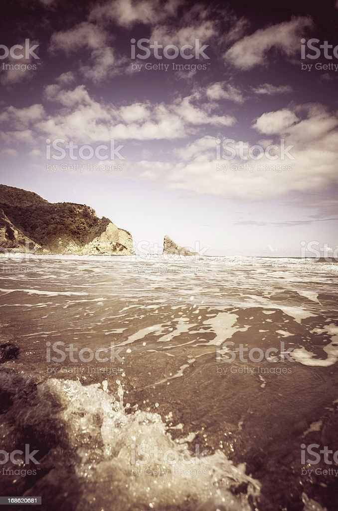 rugged nature beach landscape royalty-free stock photo