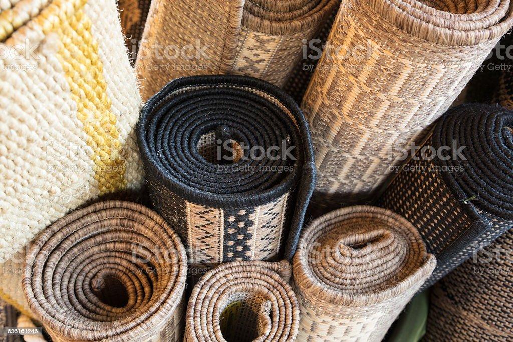 Rugs stock photo