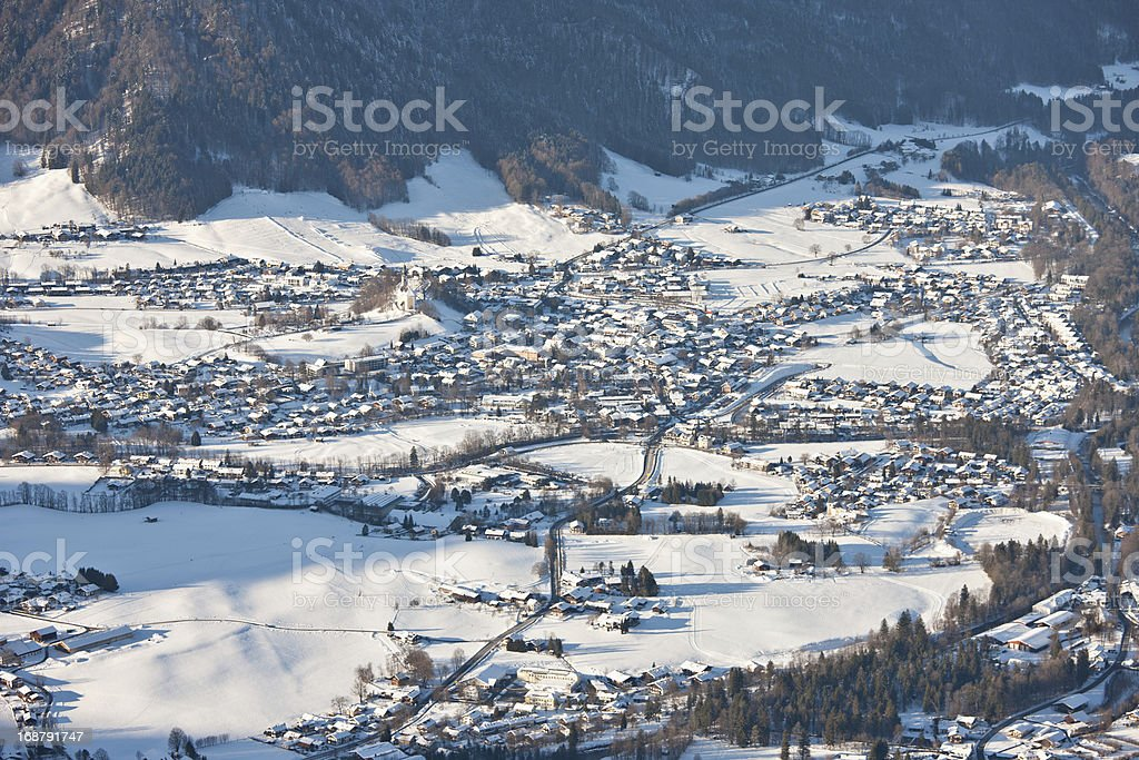 Ruhpolding Germany royalty-free stock photo