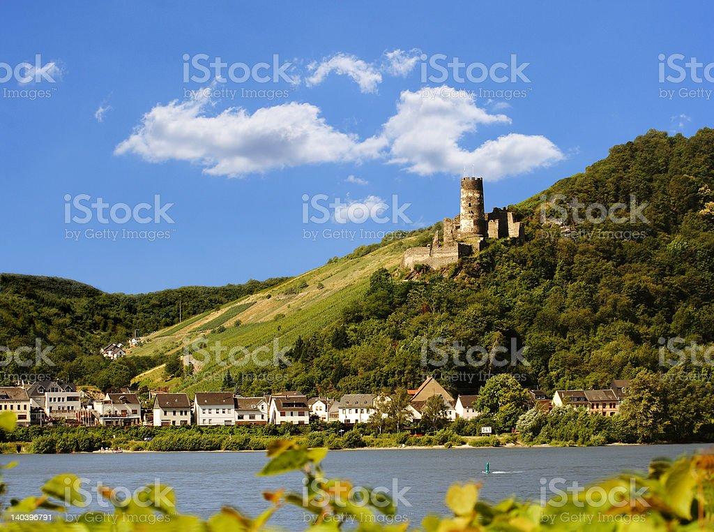 Ruin Fürstenberg stock photo