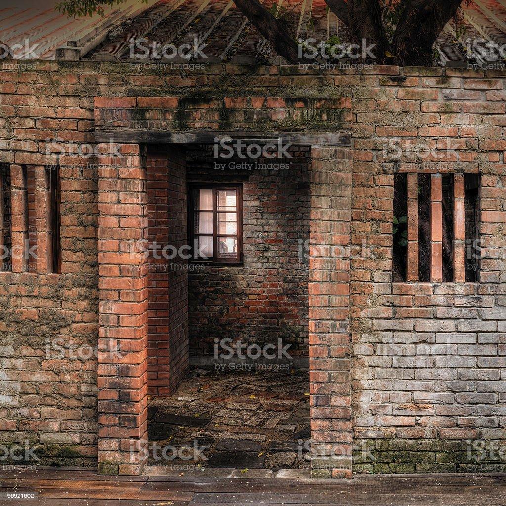 Ruin house royalty-free stock photo