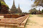 ruin of thailand