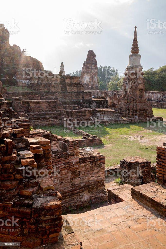 Ruines du vieux temple photo libre de droits