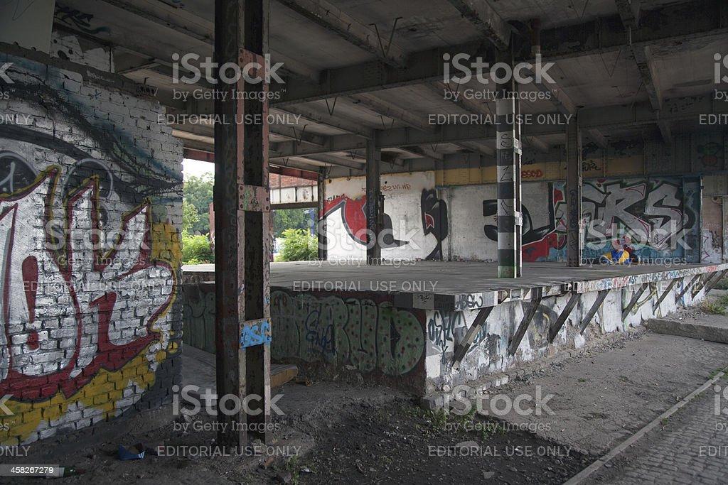 Ruin royalty-free stock photo