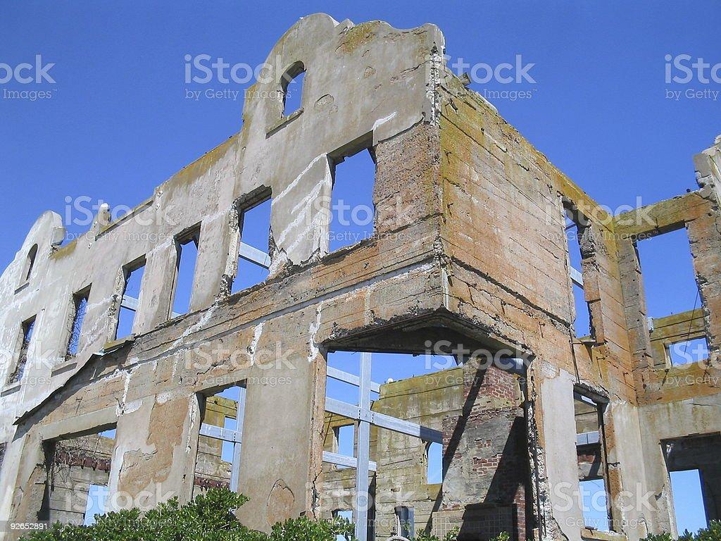 Ruin stock photo