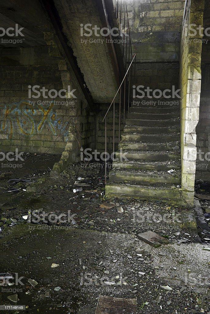 Ruin vertical royalty-free stock photo