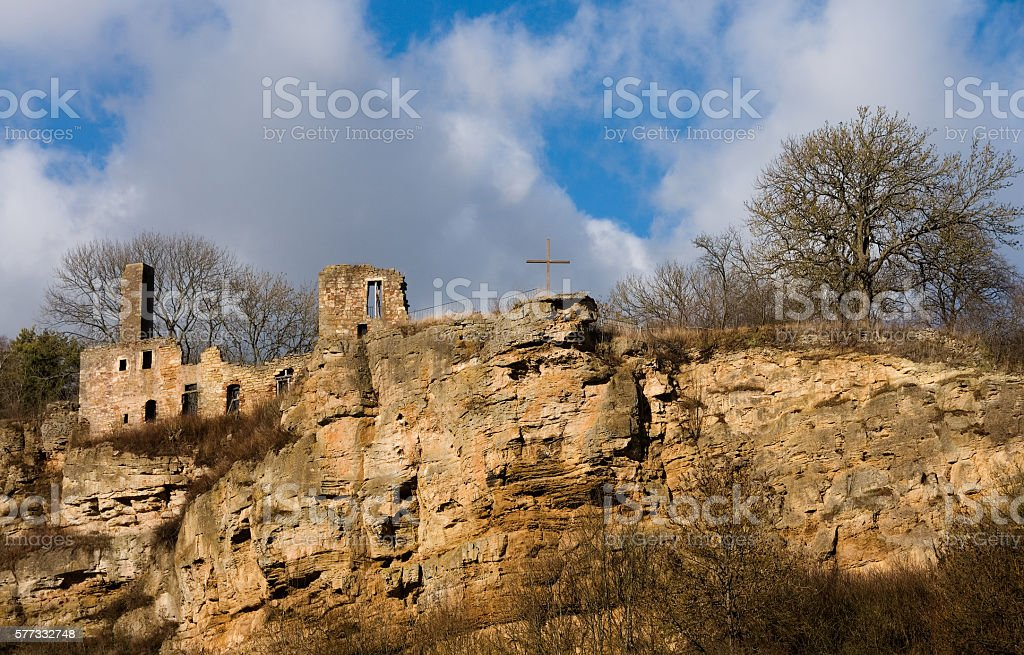Ruine Oberwerbe stock photo