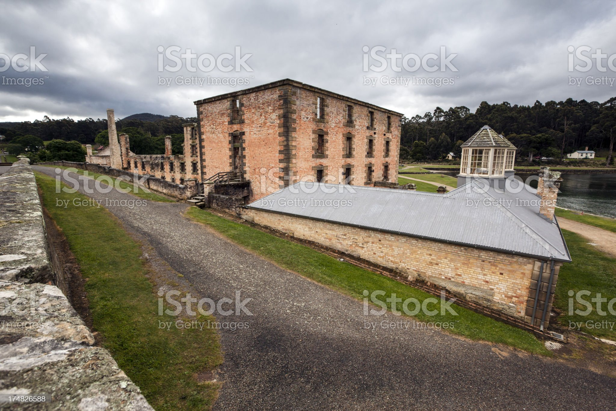 Ruined Buildings royalty-free stock photo