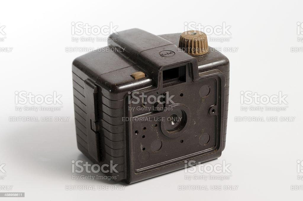 Ruined camera royalty-free stock photo
