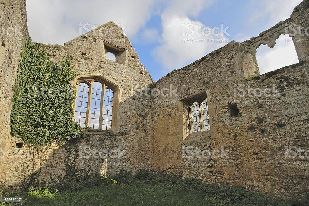 Ruined Nunnery Church, Oxford stock photo