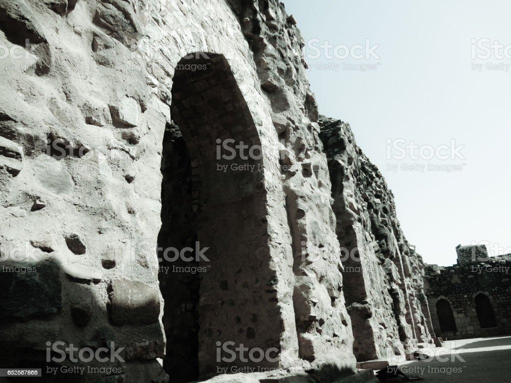 Ruines stock photo