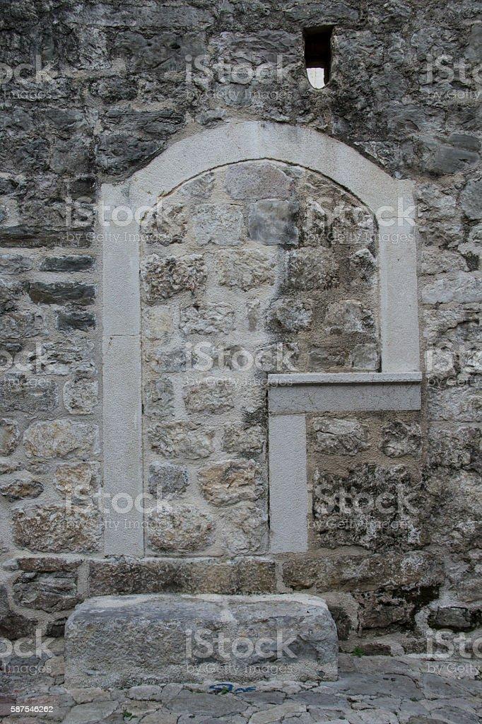 Ruins 06 stock photo