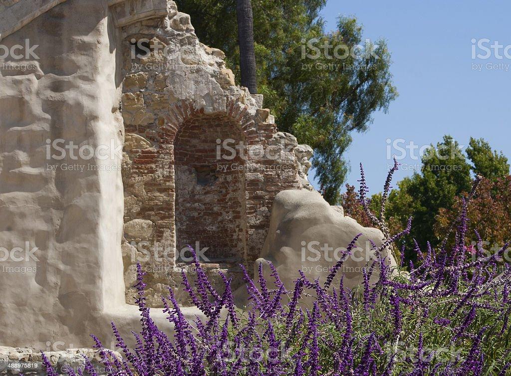 ruins at San Juan Mission stock photo