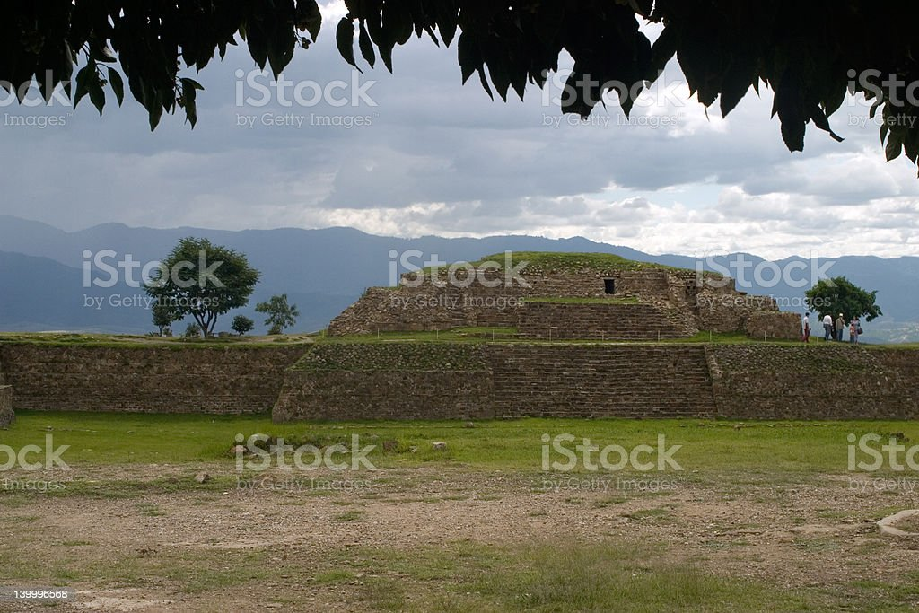 Ruins in the Jungle royalty-free stock photo