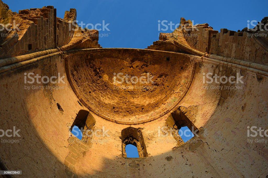 Ruins inCyprus. stock photo