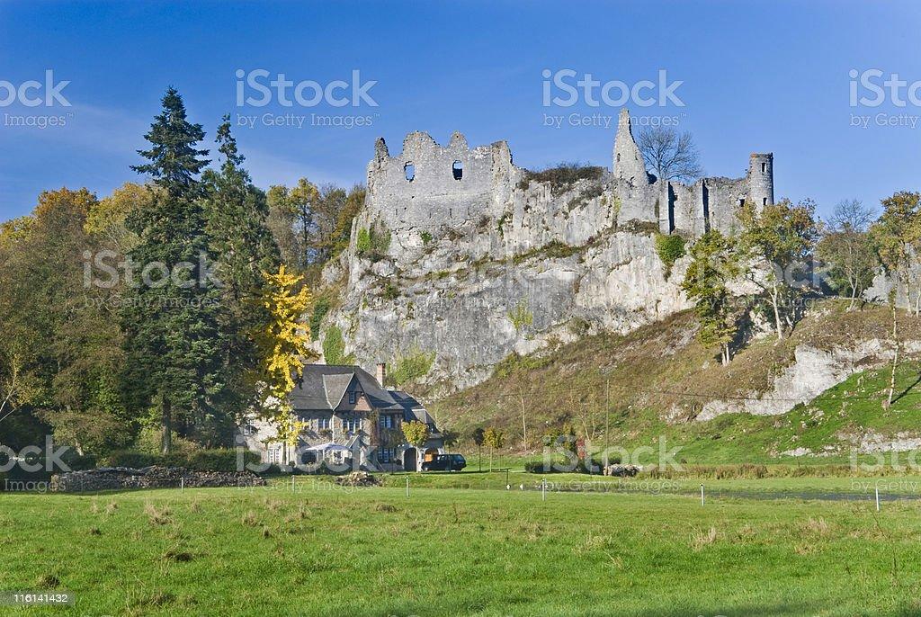 Ruins Montaigle, Belgium. royalty-free stock photo